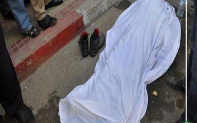 وفاة مجند بإنقلاب سيارة بمدخل جمصة