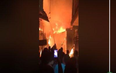 السيطرة على حريق داخل شقة سكنية في المنصورة