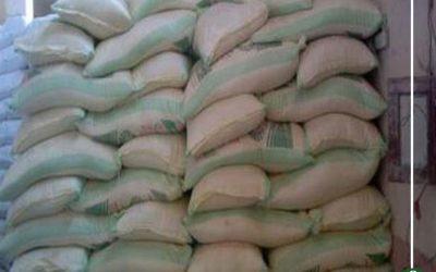 ضبط 12 طن أرز مخالف للمواصفات فى دكرنس