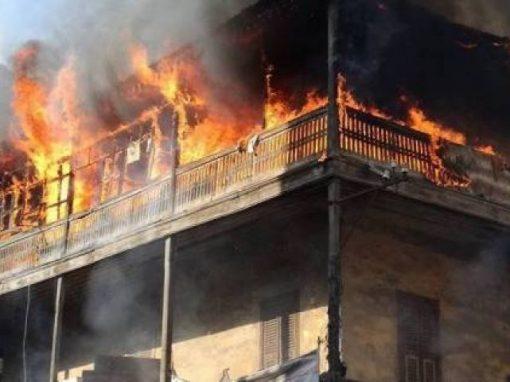 السيطرة على حريق التهم محتويات منزل في المنصورة
