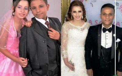زواج أصغر عروسين فى السنبلاوين بالدقهلية
